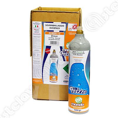 BOX 4 BOMBOLE CO2 FRIZZO MONDO 1 Kg NUOVI 55409115