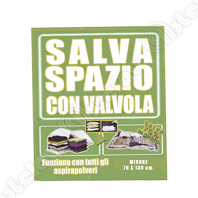 BUSTA SALVASPAZIO CM. 70X130