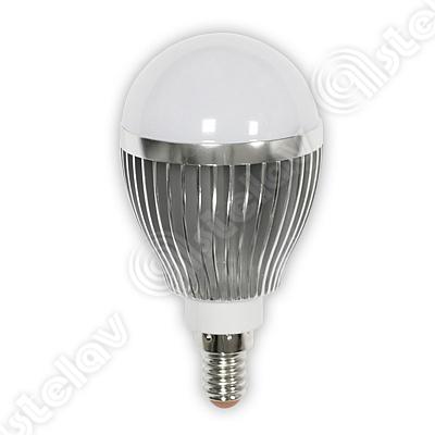 LAMPADINA LED SFERA CLASSE + LUCE CALDA 6W E14 55304921