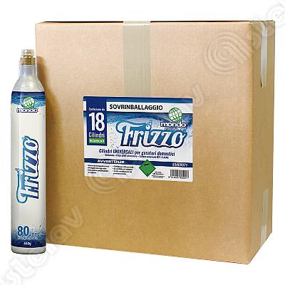 BOX 18 BOMBOLE CO2 FRIZZO RICARICATE 450G 55409071