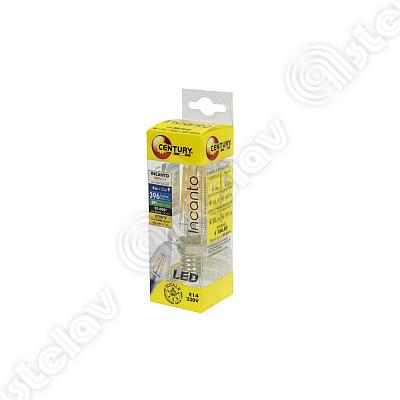 LAMPADINA LED CANDELA FILAMENTO E14 4W COD. 55304824